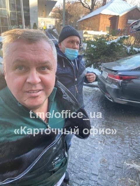 Задержанный Расюк