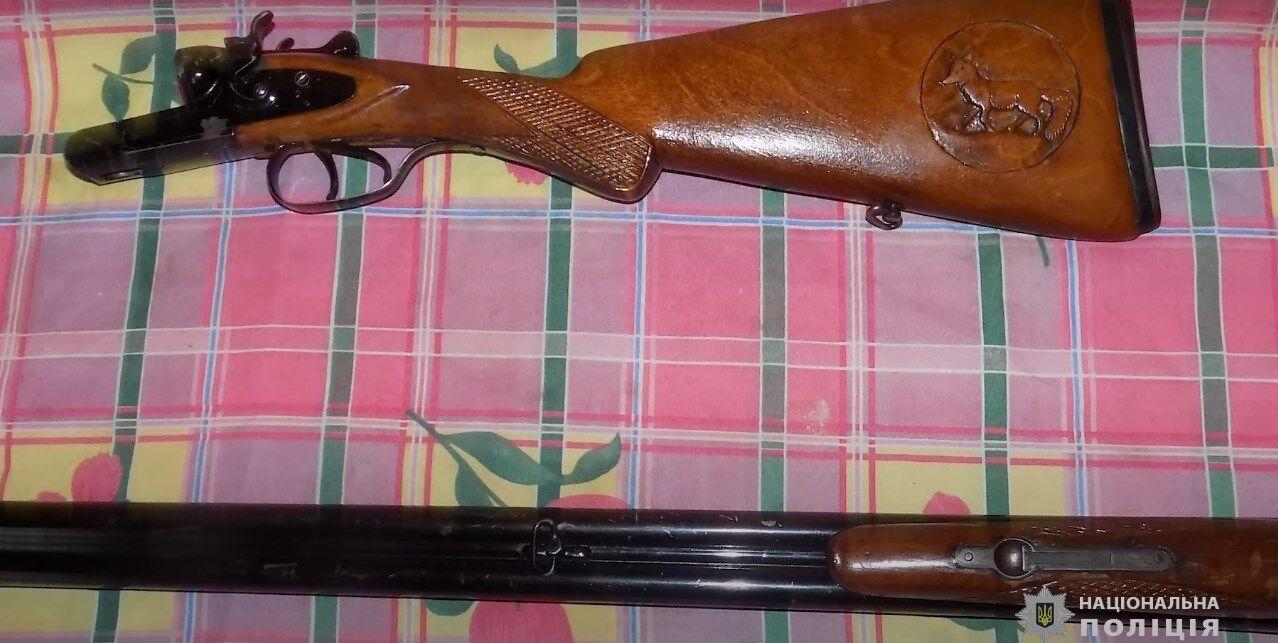 Правоохоронці виявили рушницю в одного з місцевих жителів.