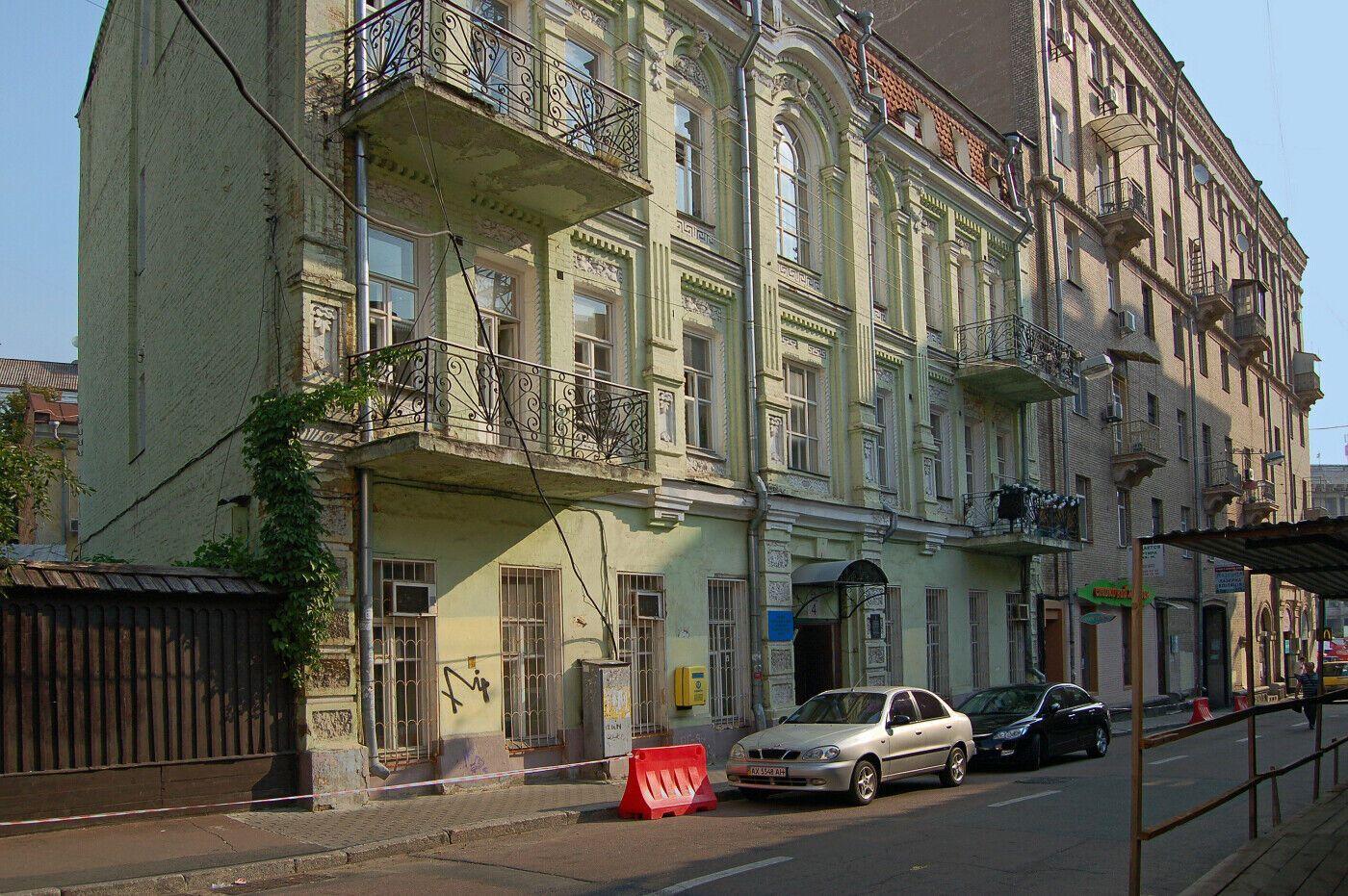 На переулке Тараса Шевченко работали известные бордели КИева.