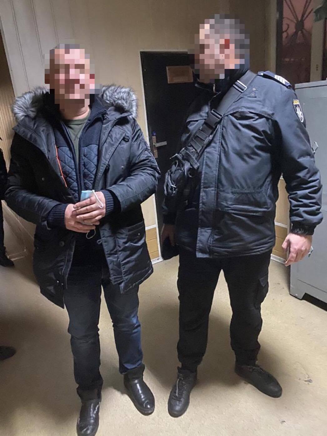 Задержанные подозреваемые.
