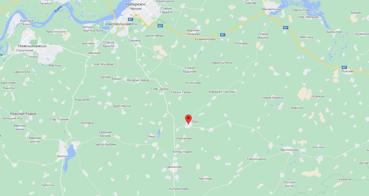 Село Большое Нуркеево