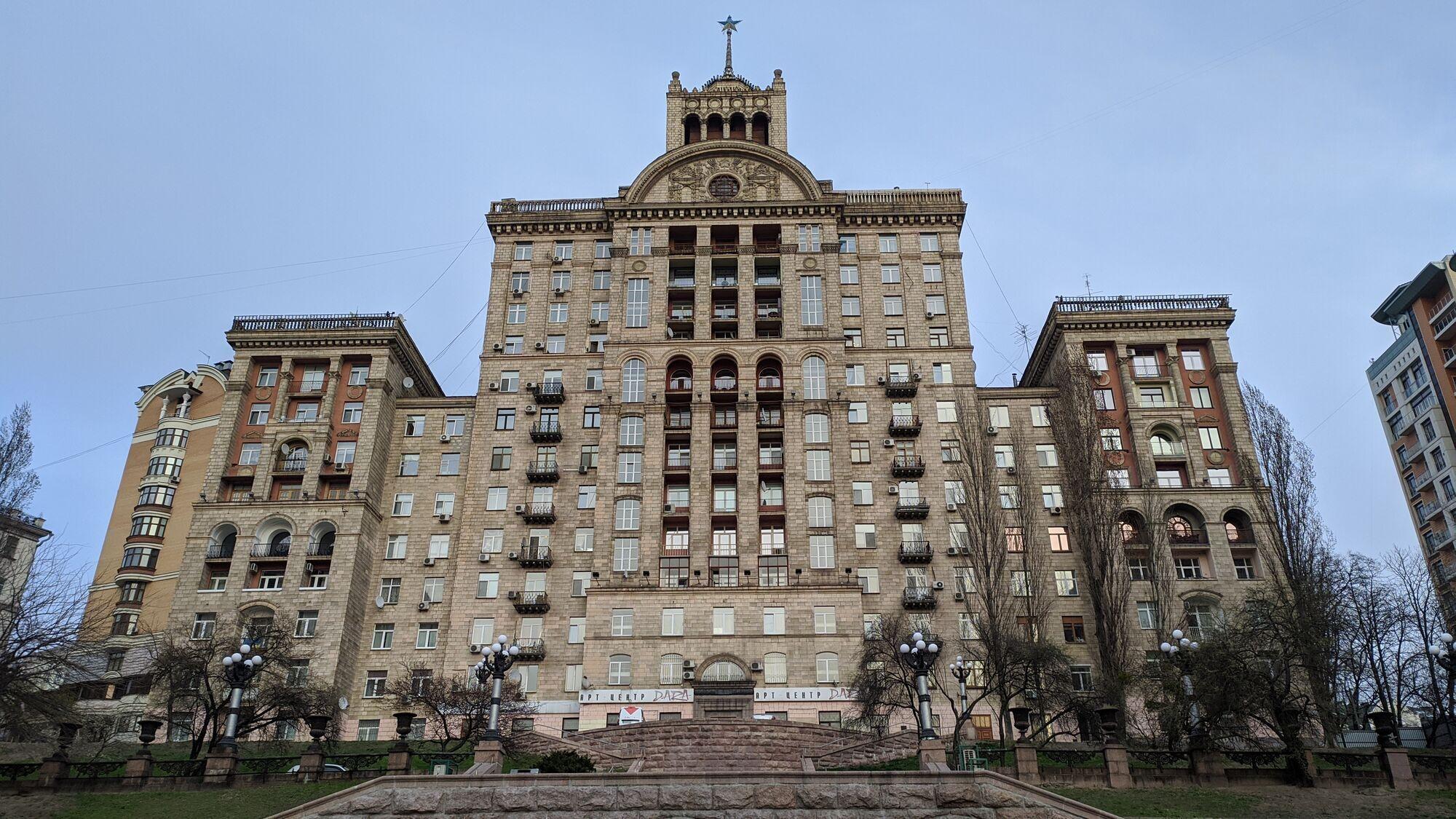Будинок, у якому живе Андрій Данилко