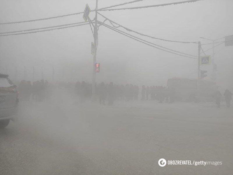 Акція протесту в Якутську