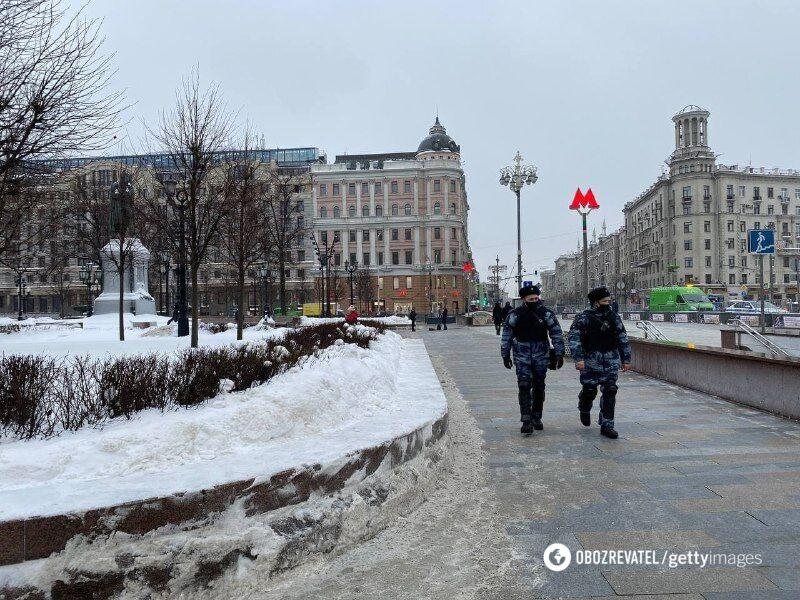 Силовики в Москві