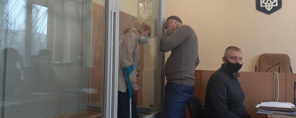Ольга Кравченко в зале суда