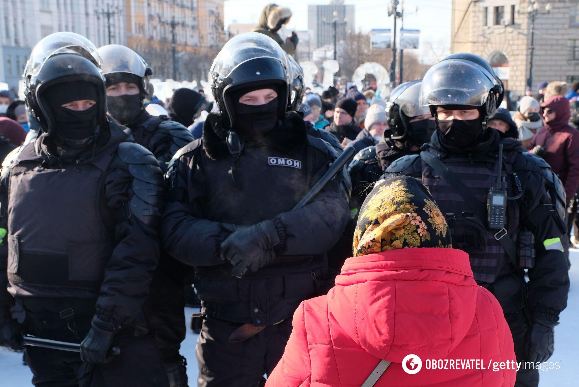 Мітинг у Хабаровську