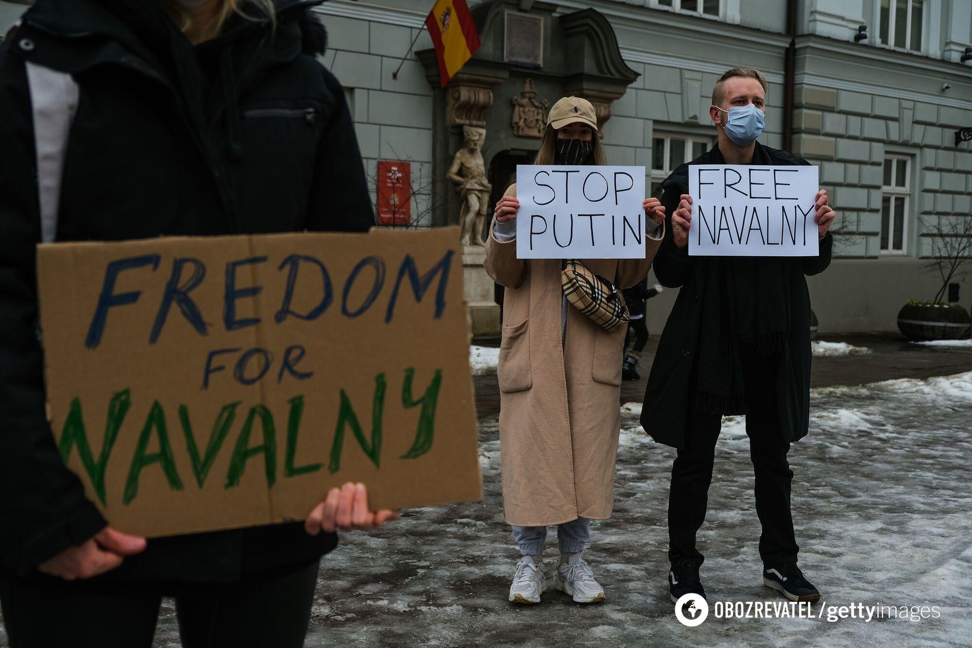Мітинг в Кракові