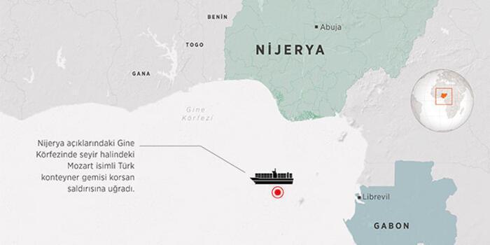 Пираты захватили турецкое судно