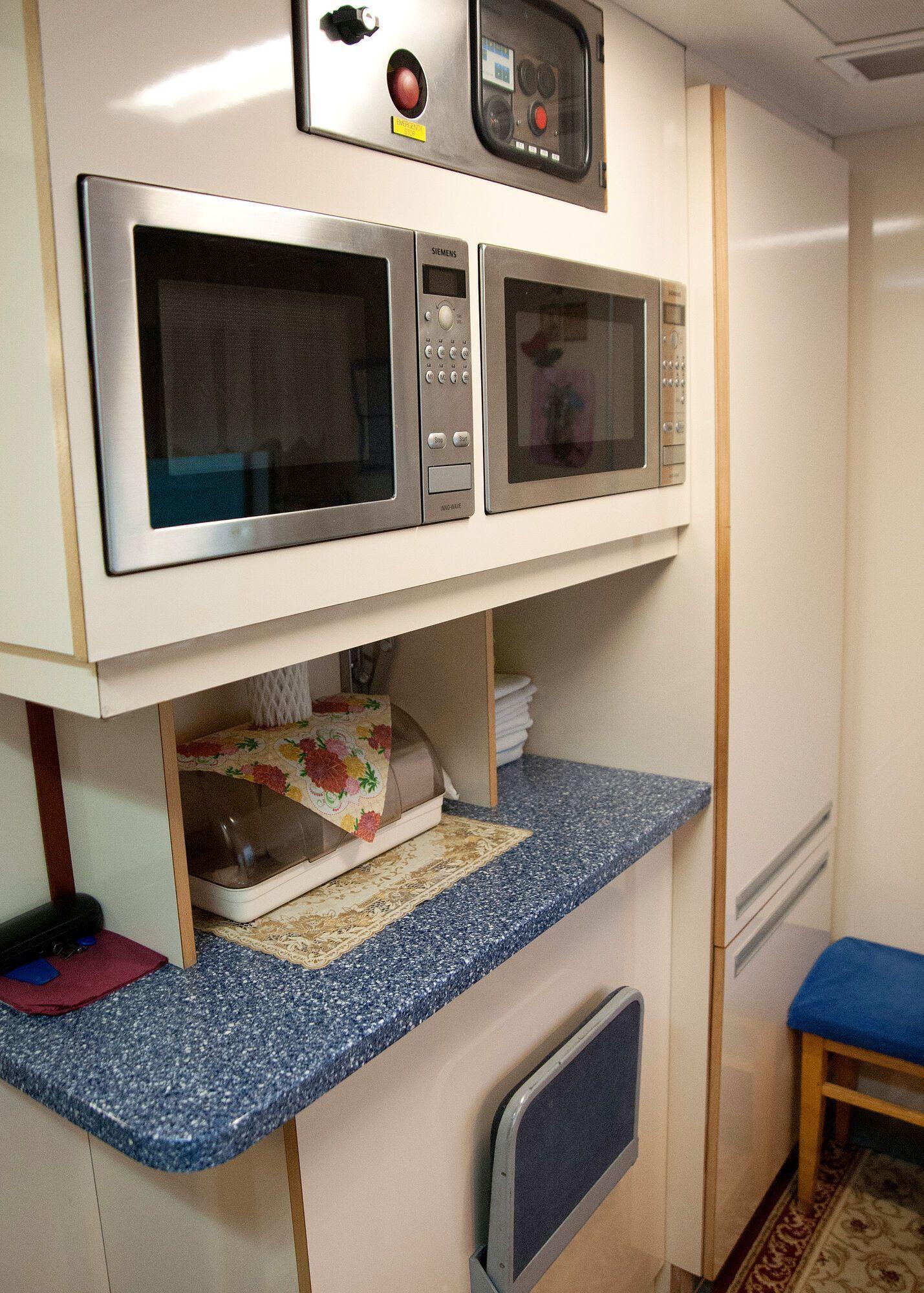 У вагонах є окремі кухні