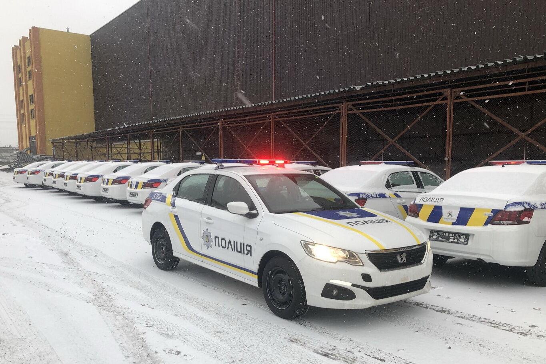 Peugeot 301 поповнили парк української поліції