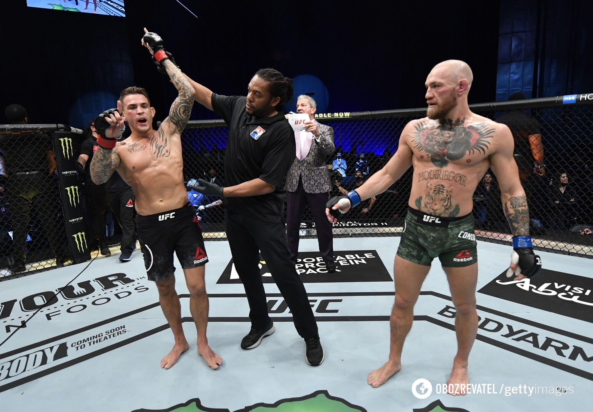Порье победил в главном бою UFC 257.