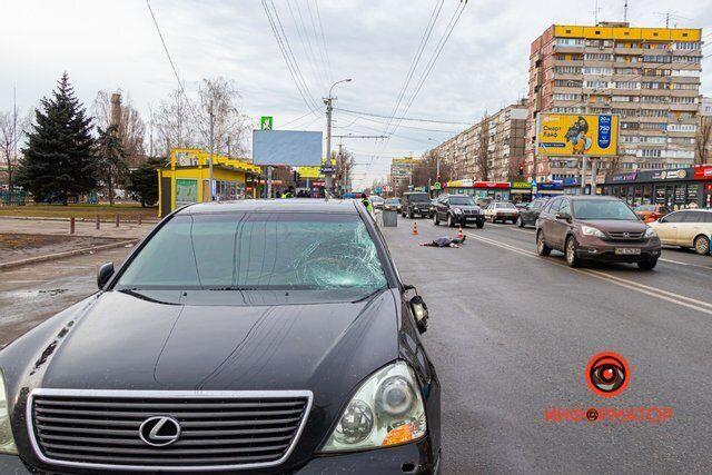 ДТП произошло на улице Калиновой
