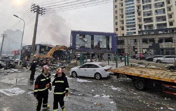 Взрыв газопровода в Китае.
