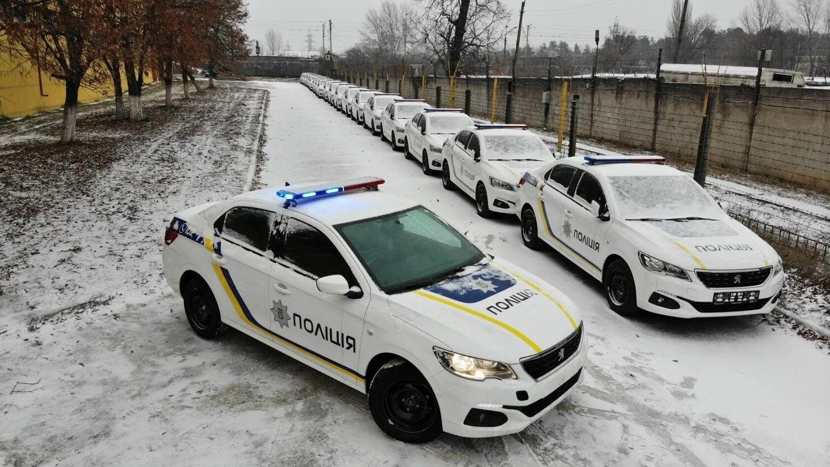 У полиции появилась крупная партия Peugeot 301