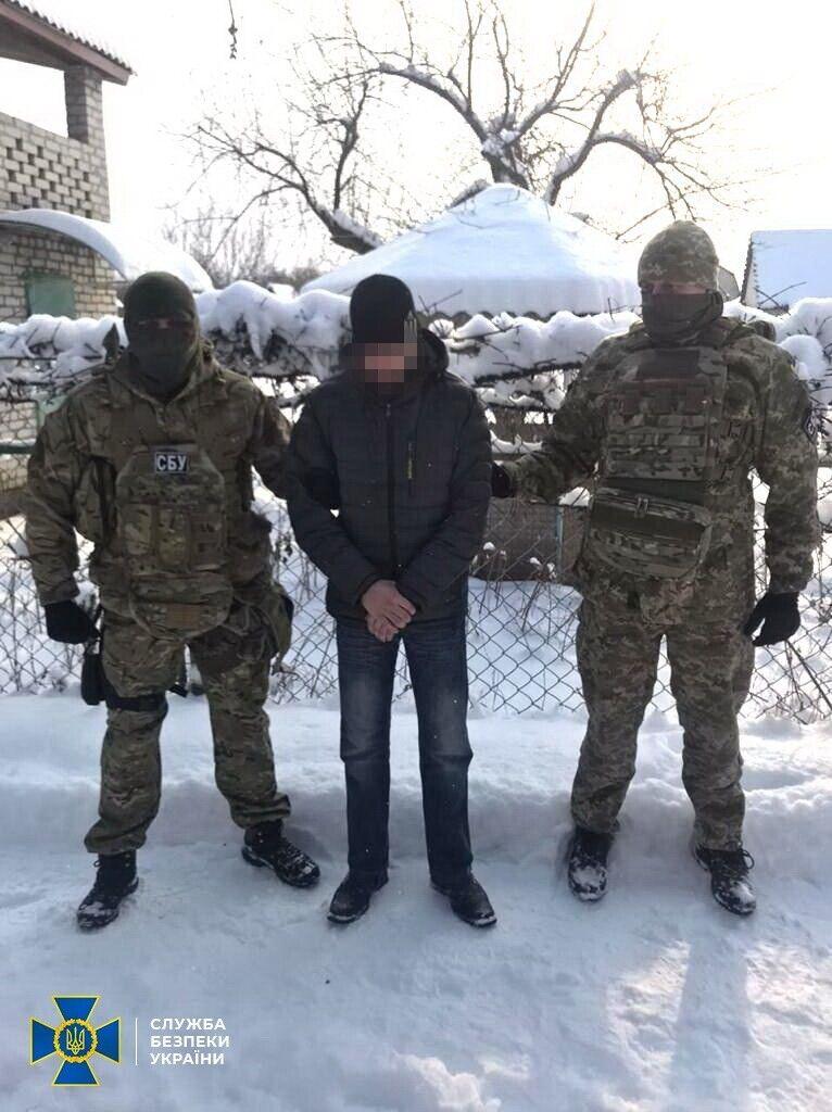 "Задержание луганчанина-разведчика НЗФ ""ЛНР"""