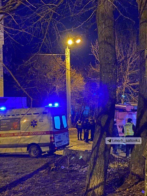 Вибух гранати в Харкові