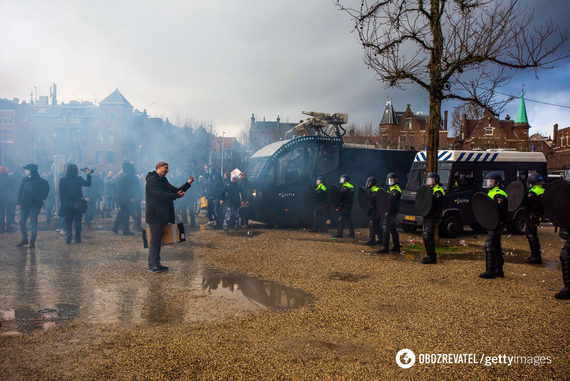 Протести у Нідерландах