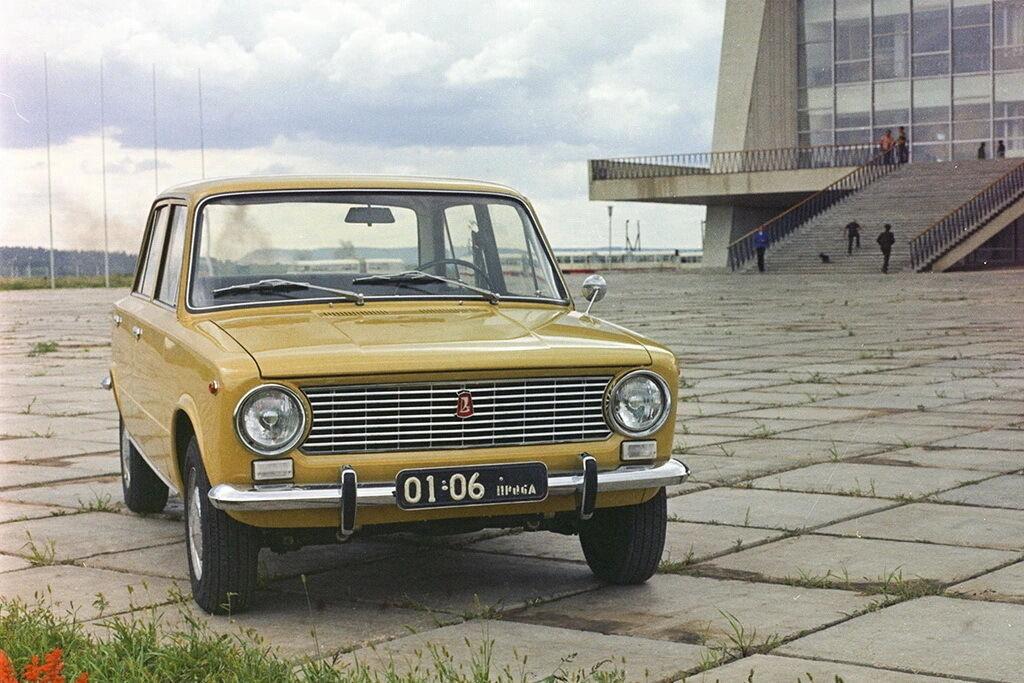 """Легендарная """"Копейка"""" стала не только самой массовой моделью ВАЗа, но и всего советского автопрома"""