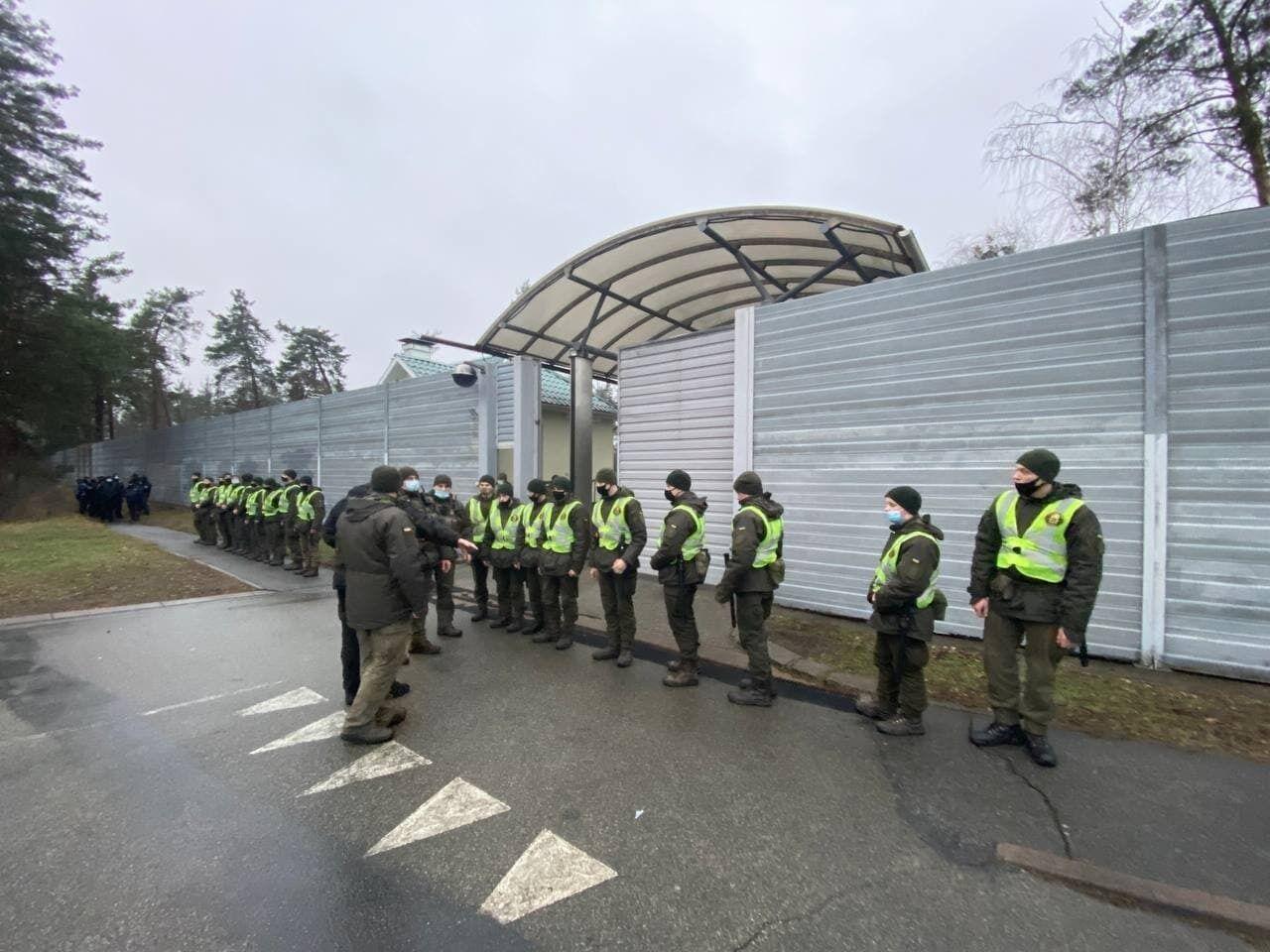 Правоохоронців більше, ніж протестувальників
