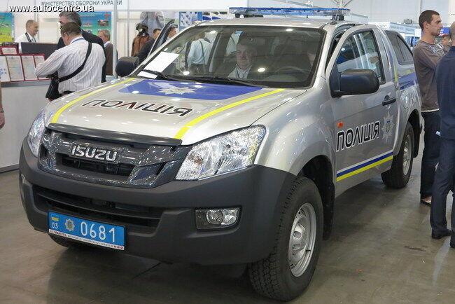 Полицейский Isuzu D-Max для патрулирования границы
