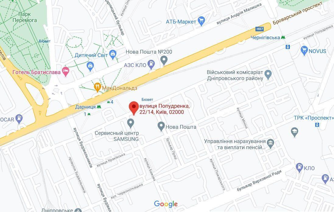 """Разбойное нападение произошло в районе станции метро """"Дарница"""""""