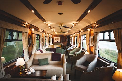 Как выглядит поезд Belmond Royal Scotsman