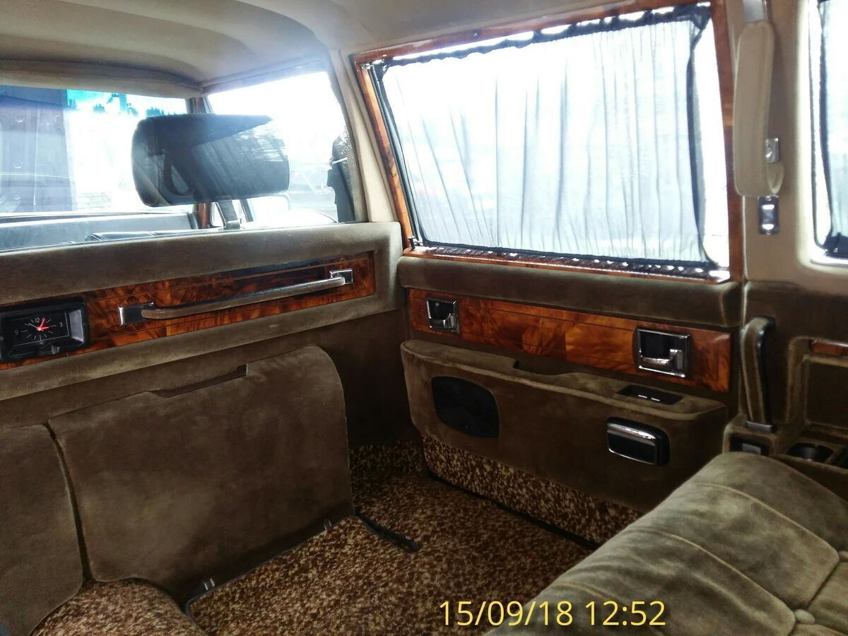 Интерьер пассажирского отделения ЗИЛ-41045