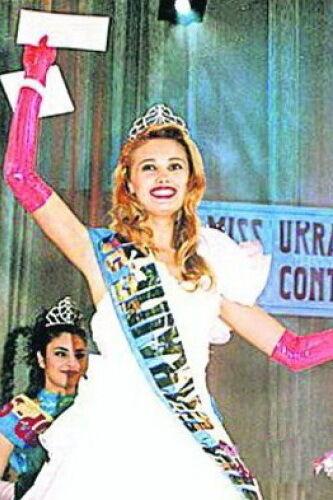 """""""Міс Україна"""" 1996 року: Наталія Швачко."""