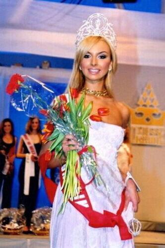 """""""Міс Україна"""" 2003 року: Ілона Яковлєва."""