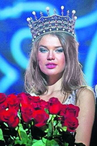 """""""Міс Україна"""" 2009 року: Євгенія Тульчевська."""