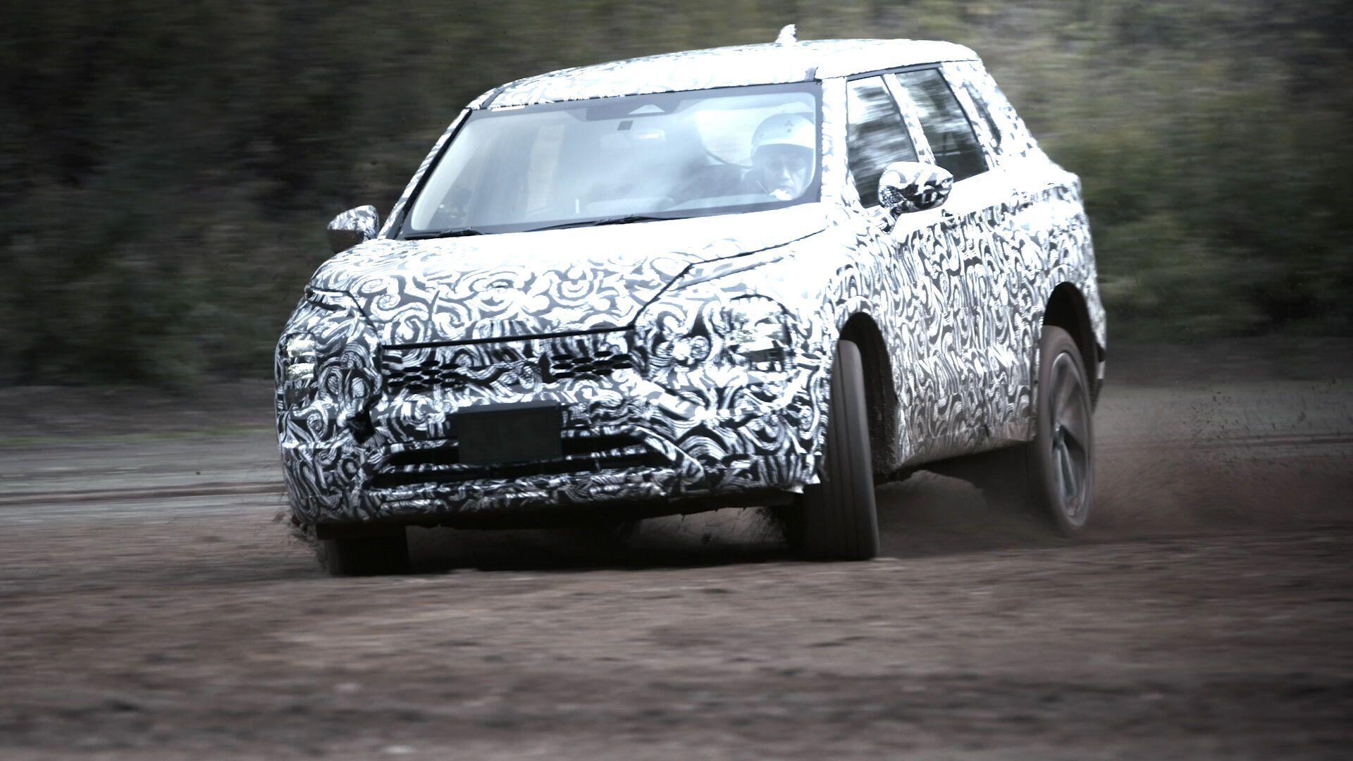 Mitsubishi Outlander отримав нову платформу