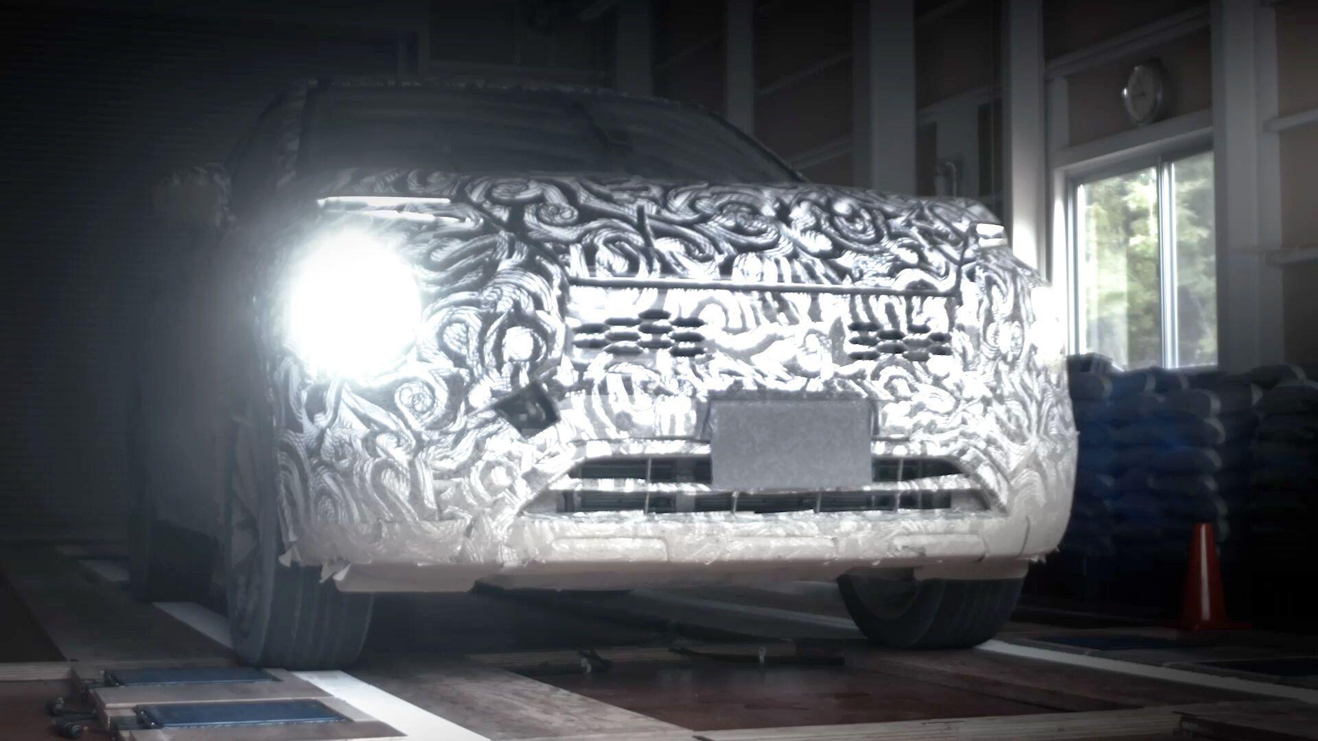 Нове покоління Mitsubishi Outlander буде більшим за попередника