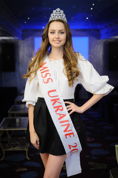"""""""Міс Україна"""" 2014 року: Андріана Хасаншин."""