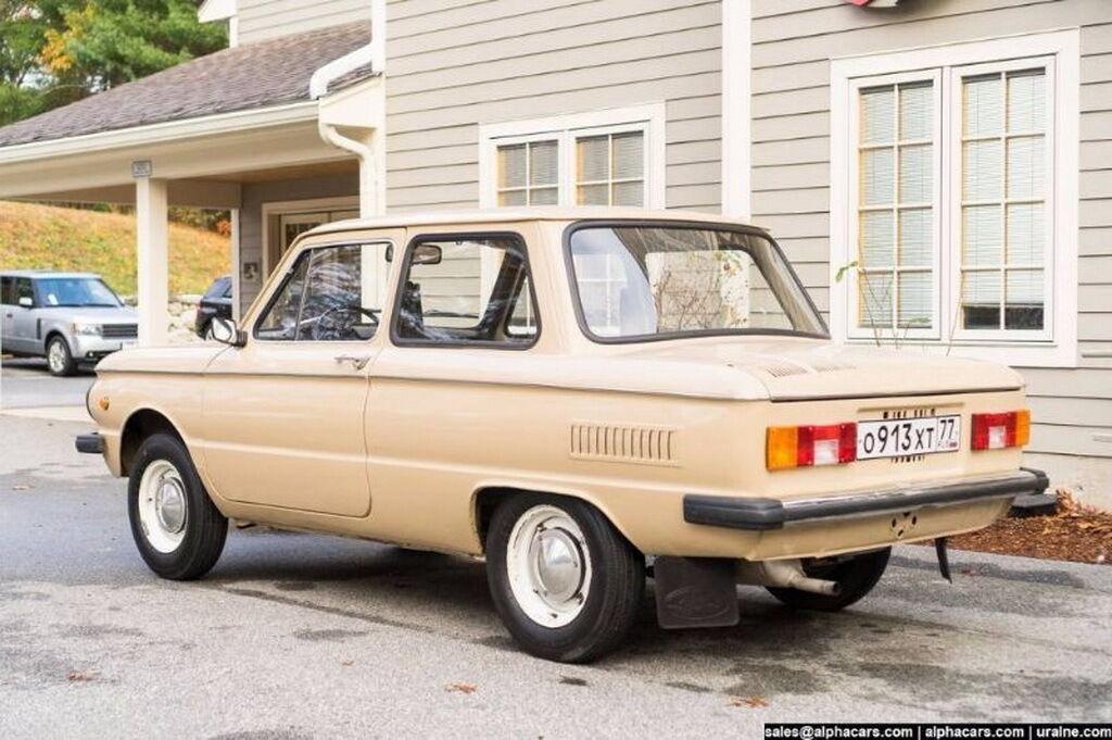 Машина сохранилась практически в идеальном состоянии