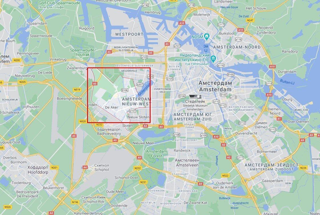 Взрыв якобы произошел в районе Осдорп.