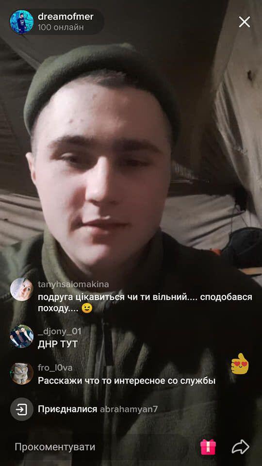 """Солдат слил врагу секретную информацию и назвал россиян """"братским народом""""."""