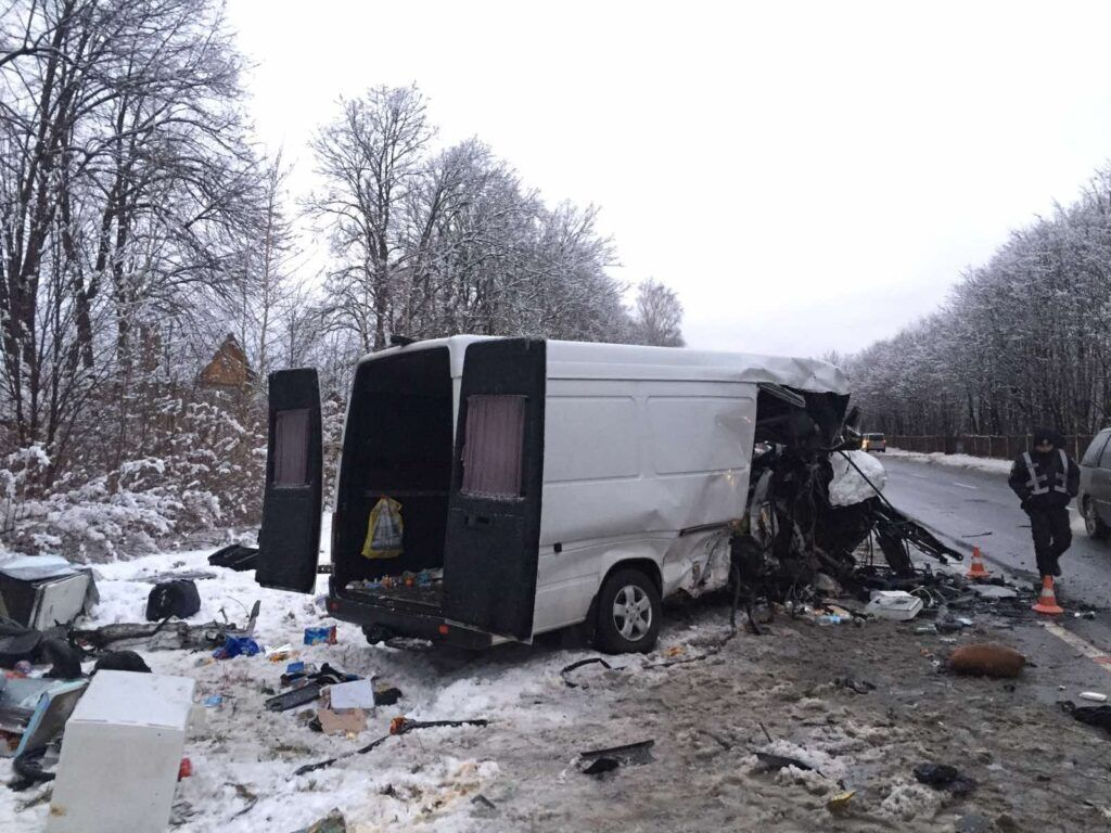 Потрійне зіткнення авто на Львівщині