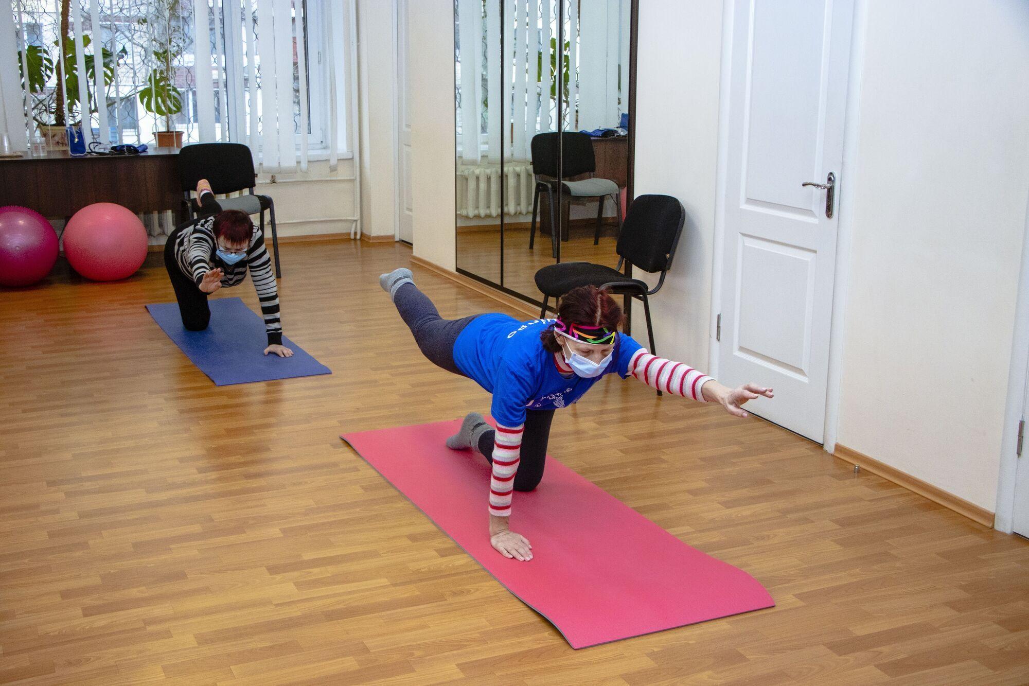 Подопечные терцентра довольны восстановлением тренировок