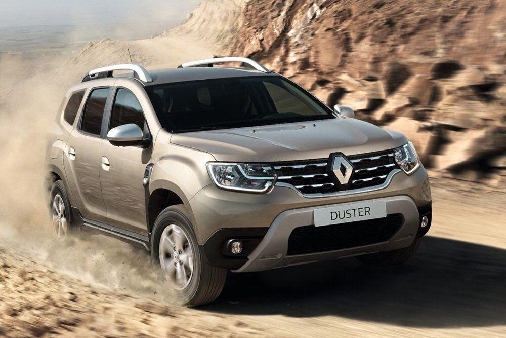Бюджетный кроссовер Renault Duster на втором месте