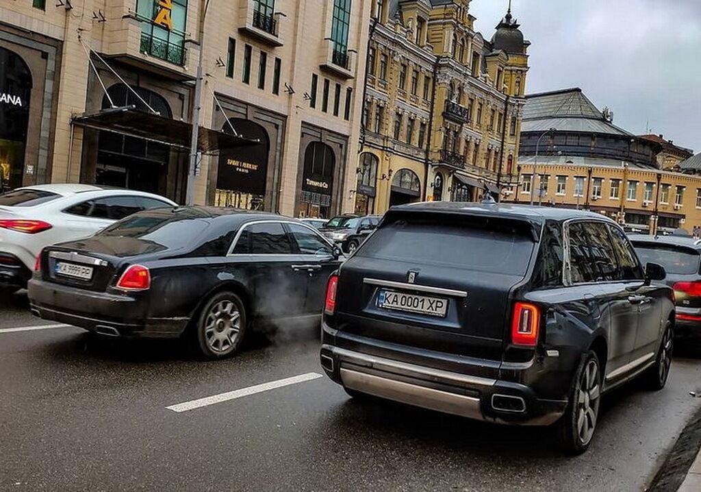 Rolls-Royce в Киеве – не роскошь, а средство передвижения