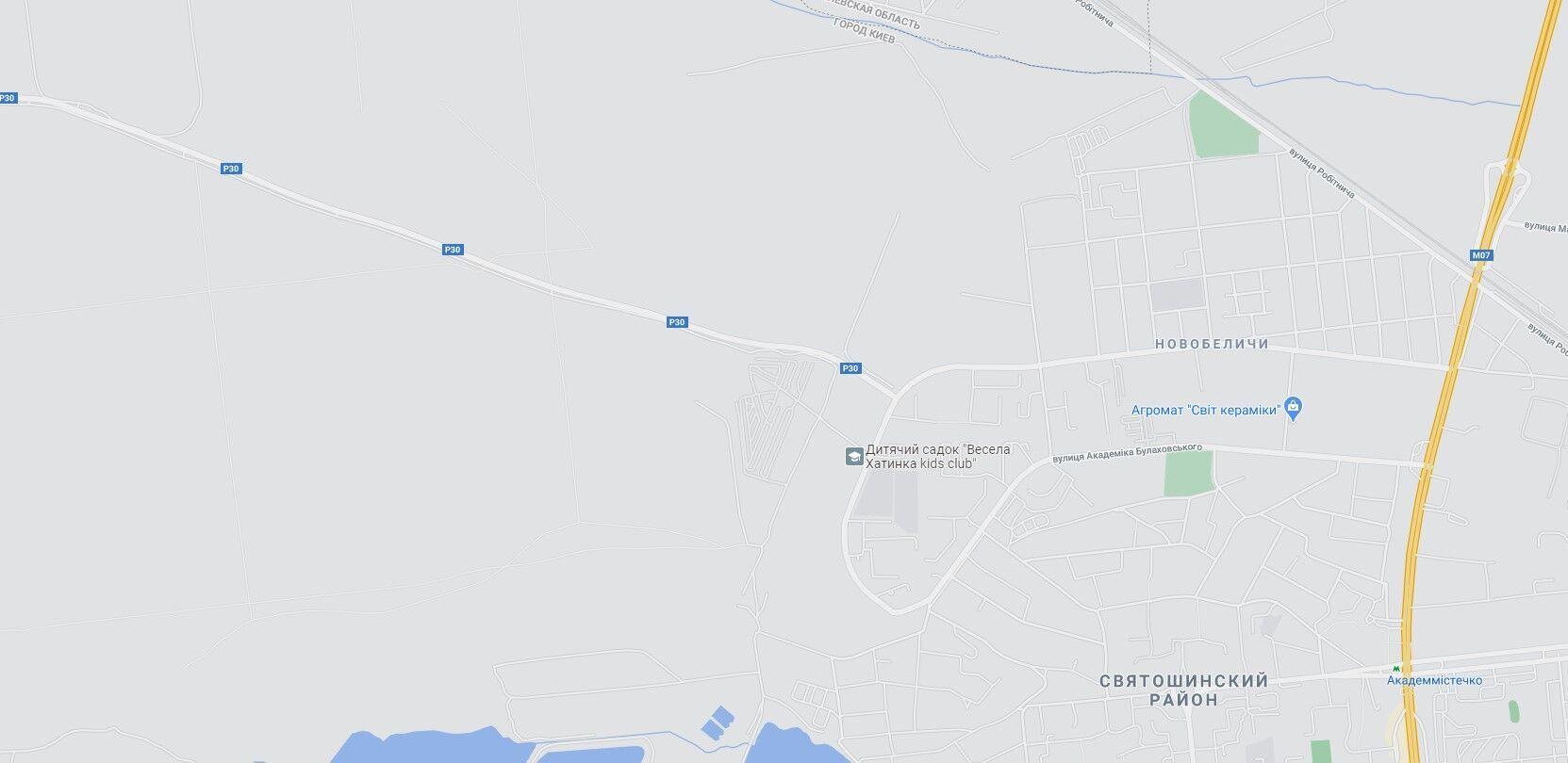 Аварія сталася на Новоірпінській трасі.