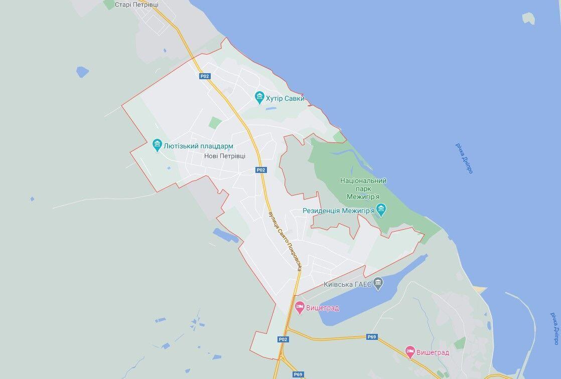 ДТП сталася в селищі Нові Петрівці.