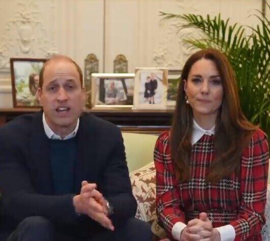 Принц Вільям і Кейт Міддлтон записали нове відео