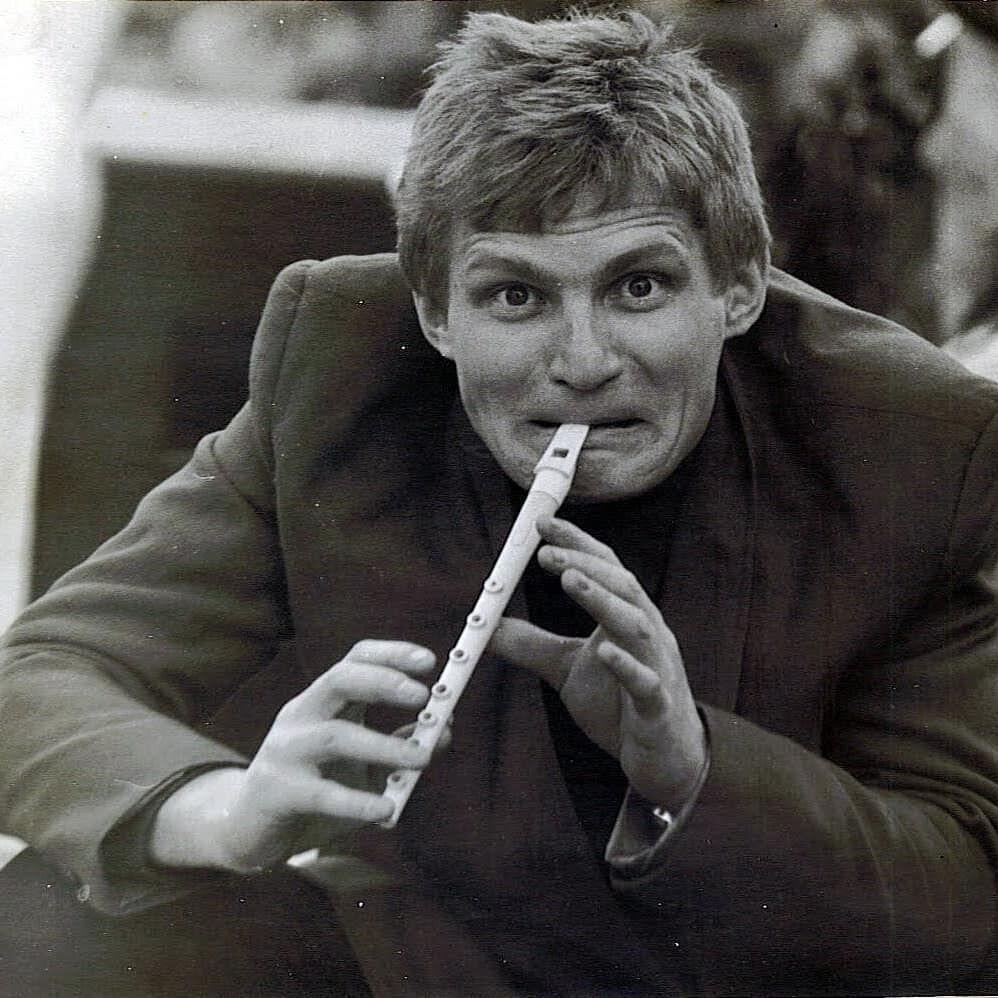 Олег Скрипка в молодости