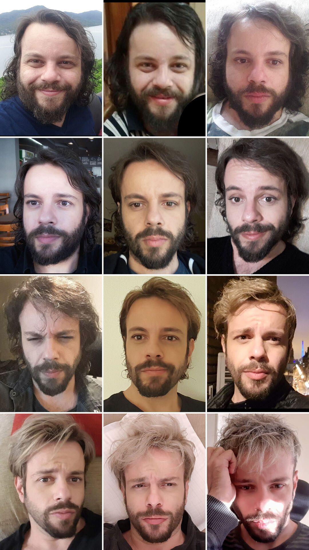 Преобразование мужчины в результате похудения