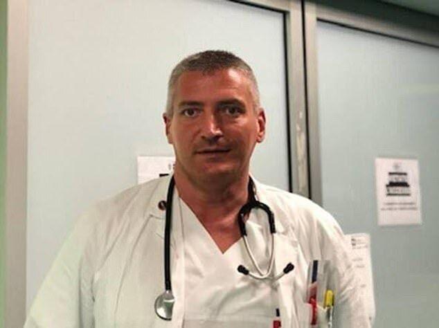 Обвиняемый врач Карло Моска.