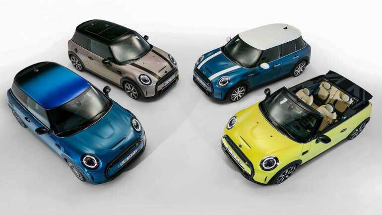 Обновленные Mini Cooper