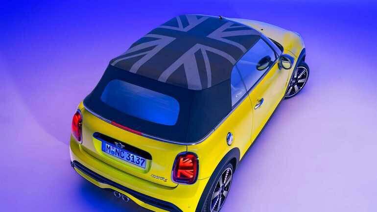 Mini Cooper в оттенке Zesty Yellow