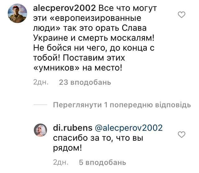 Блогера Di.rubens после скандала поддержали россияне.