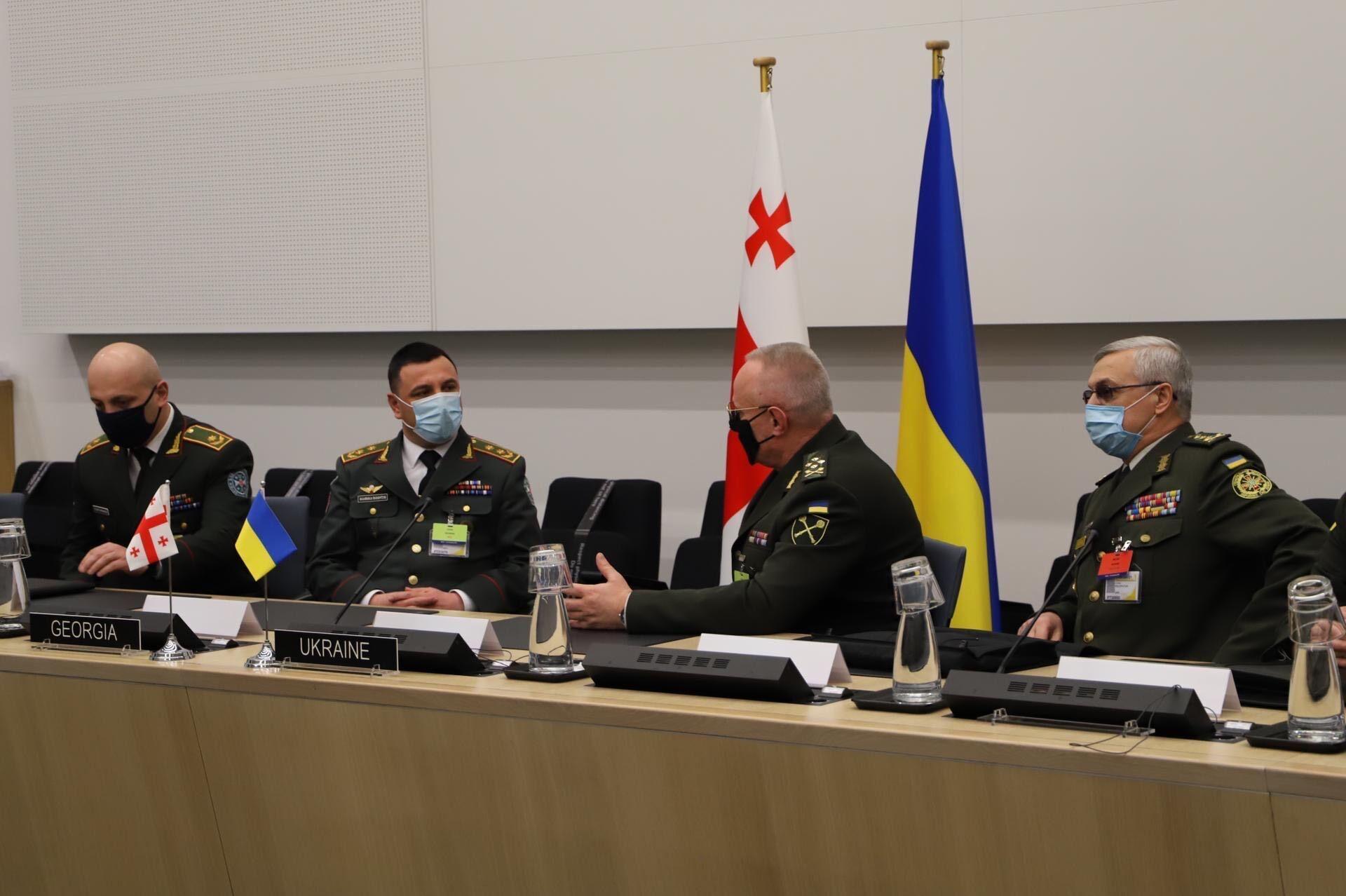 Військові ЗСУ провели низку зустрічей із колегами з НАТО